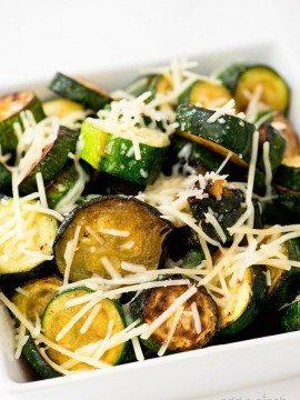 Parmesan Zucchini and Eggplant Recipe