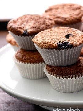 Blueberry Banana Bread Muffins Recipe