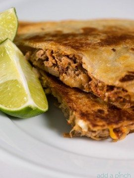 Pulled Pork Quesadillas Recipe
