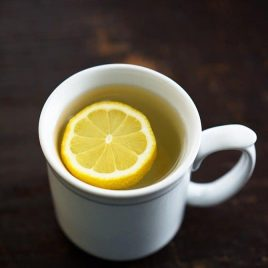 Lemon Water with Honey // addapinch.com