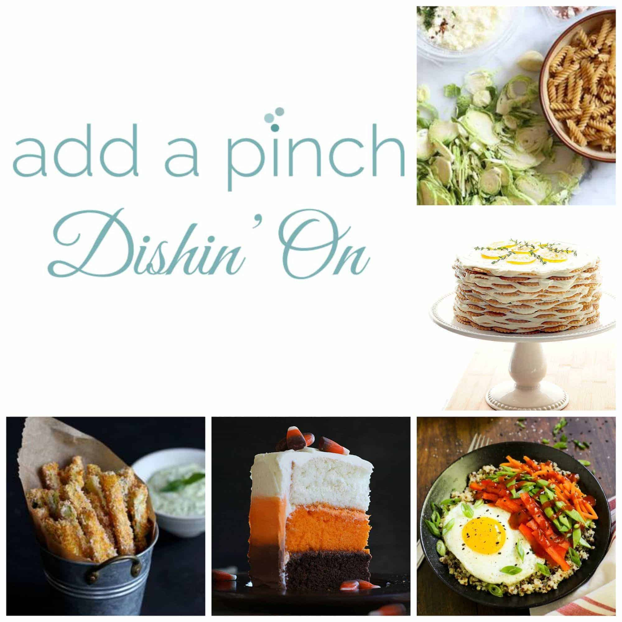 Add a Pinch Dishin' On : A weekly feature of favorite foodie friends and finds. // addapinch.com
