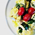 Egg Spinach and Tomato Scramble Recipe
