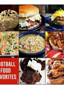 Football Food Favorites!