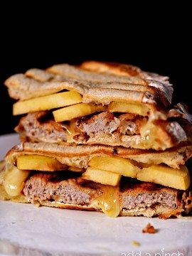 Pork Loin Apple Brie Panini Recipe