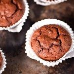 Pumpkin Chocolate Chocolate Chip Muffins Recipe