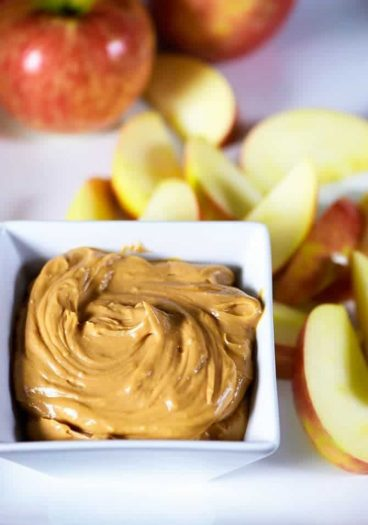 This fruit dip recipe is quick and easy and uses just five ingredients for a fruit dip everyone loves! // addapinch.com