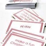 Children's Advent Calendar Printable