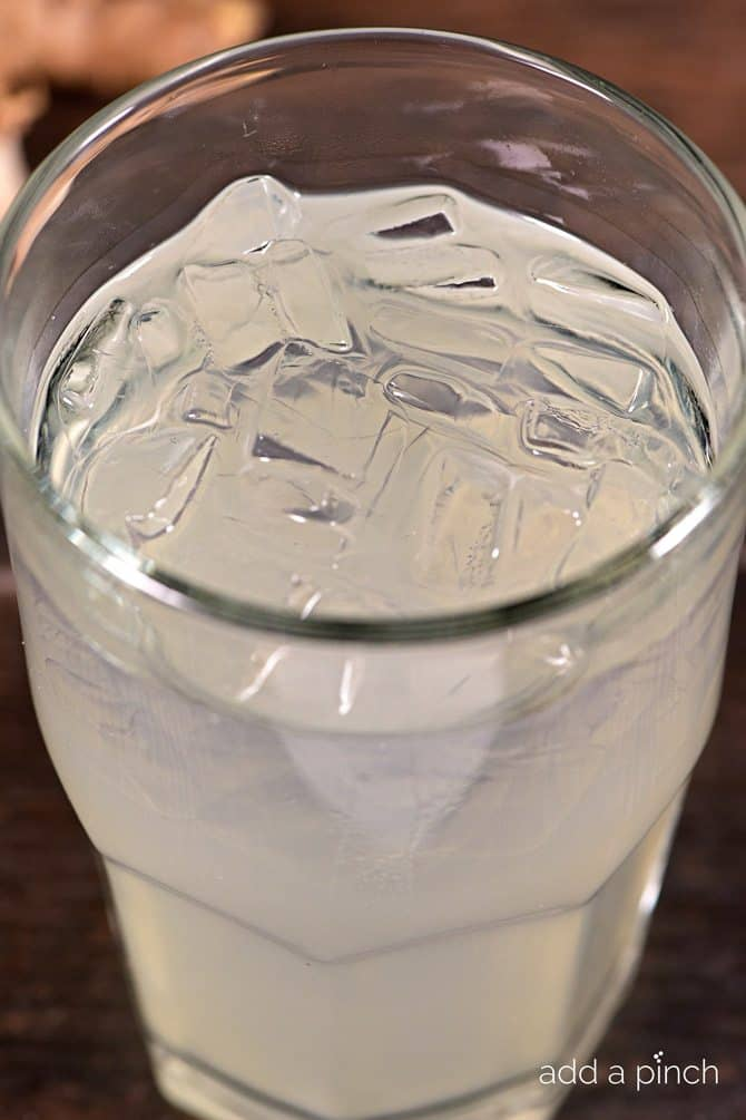Homemade Ginger Ale Recipe Add A Pinch