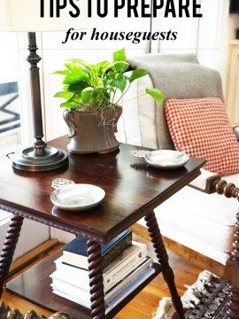 Tips to Prepare for Houseguests