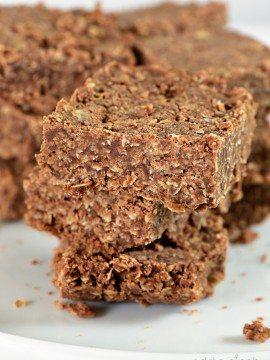 Easy No Bake Cookie Bars Recipe