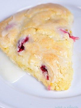 Cranberry Orange Scones Recipe