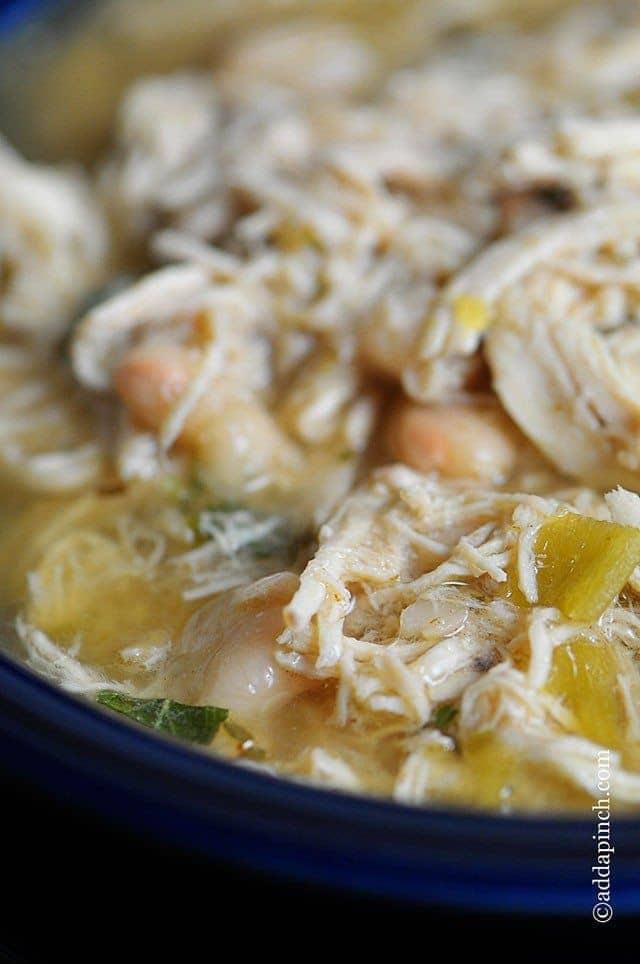 White Chicken Chili Recipe Add A Pinch