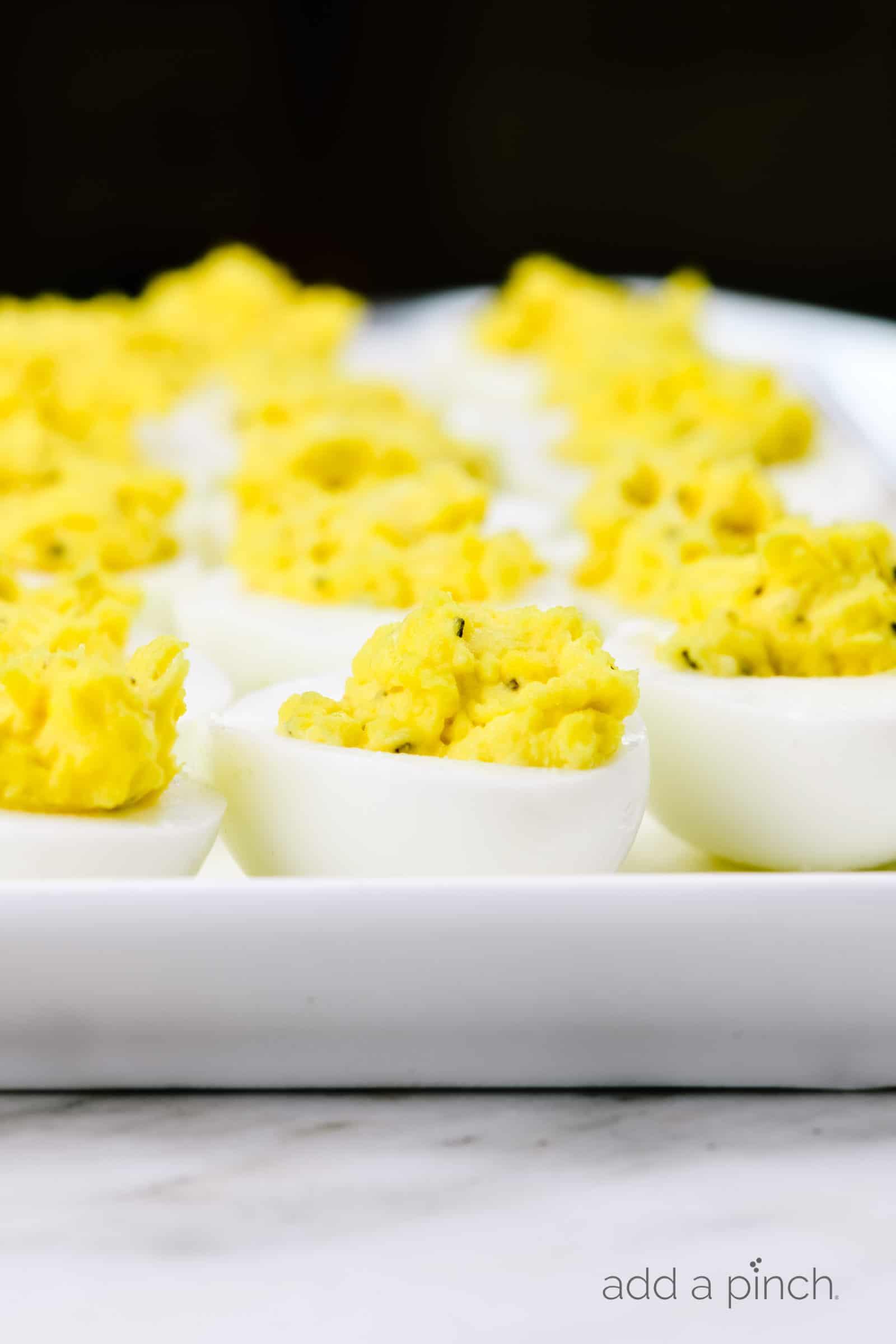 Classic Deviled Eggs Recipe Add A Pinch
