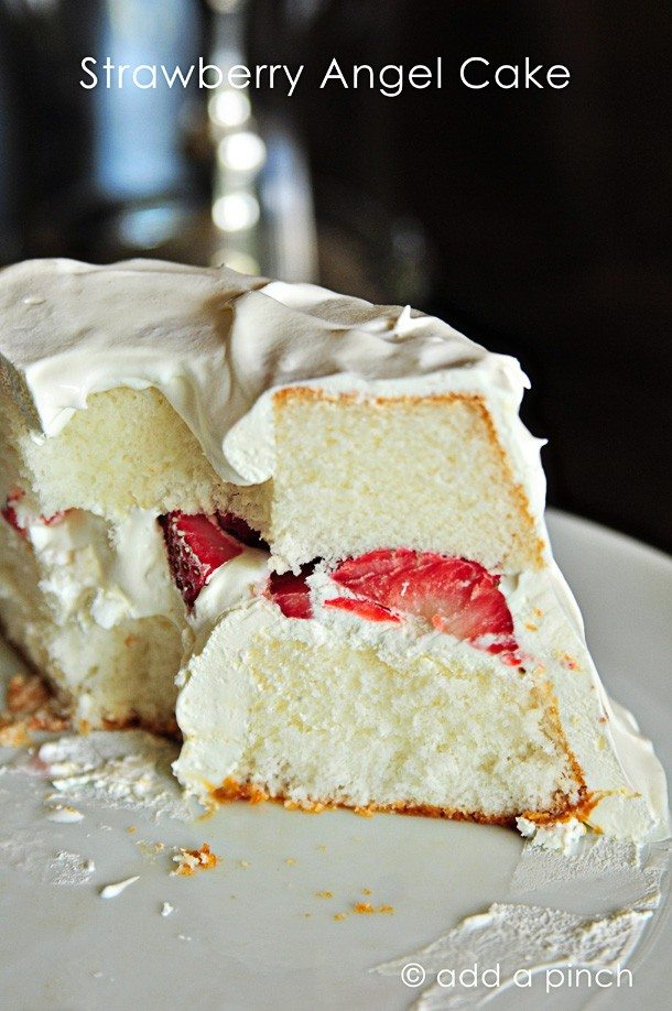 Angle Food Cake Recipes Desserts