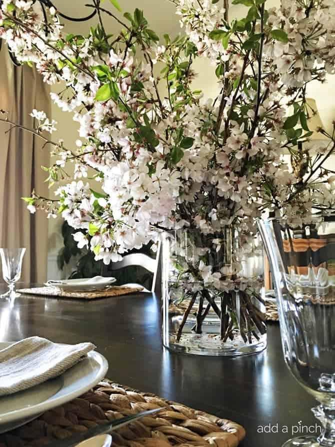 cherry blossom branch arrangement - add a pinch