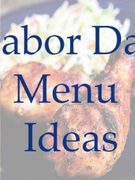 Labor Day Menu Ideas