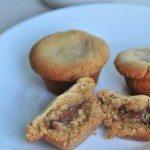 Peanut Butter Chocolate Lava Cookies