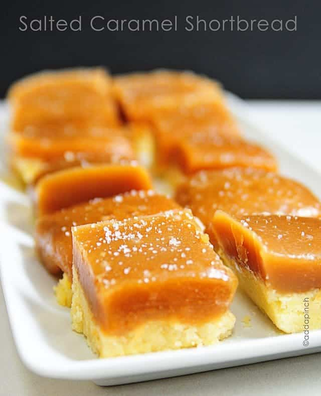 Salted Caramel Bars - Cooking | Add a Pinch | Robyn Stone