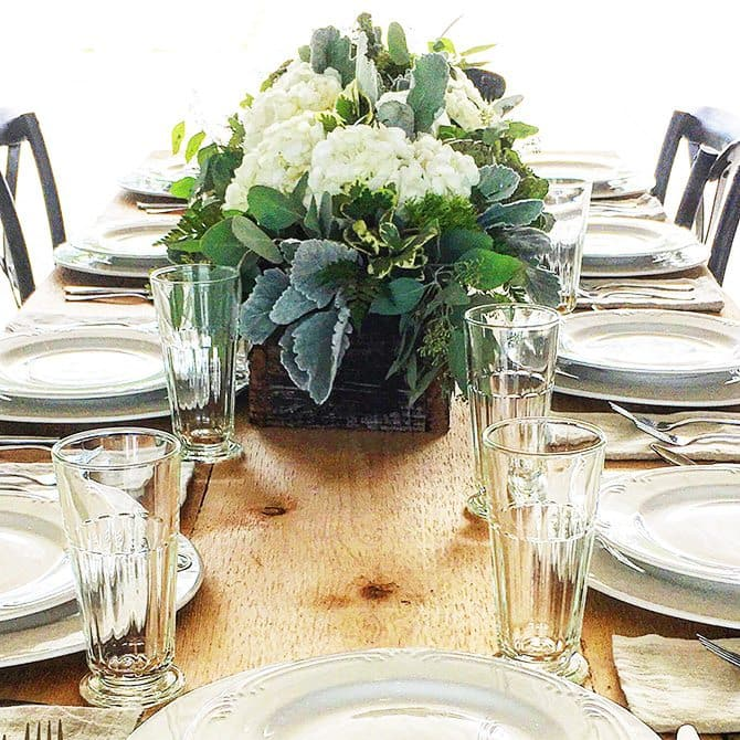 Add a Pinch / Robyn Stone/ Table Setting at the Barn // addapinch.com