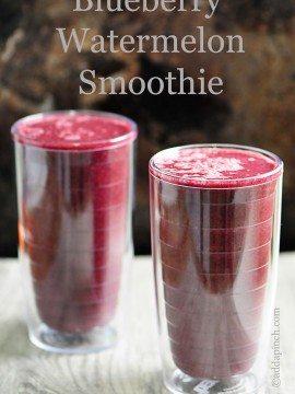Blueberry Watermelon Smoothie Recipe