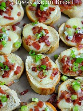 Cheesy Bacon Bread Recipe