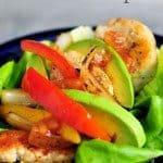 Chicken Fajita Lettuce Wraps Recipe
