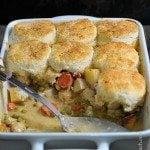 Chicken Pot Pie with Biscuits Recipe