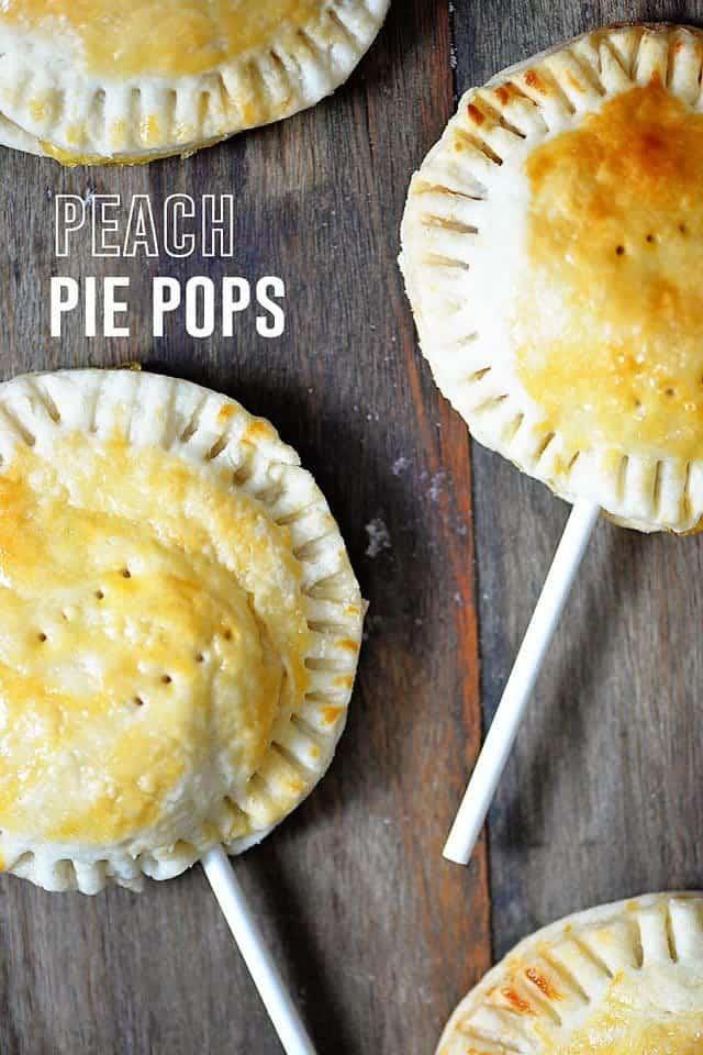 Peach Pie Pops Recipe Add A Pinch