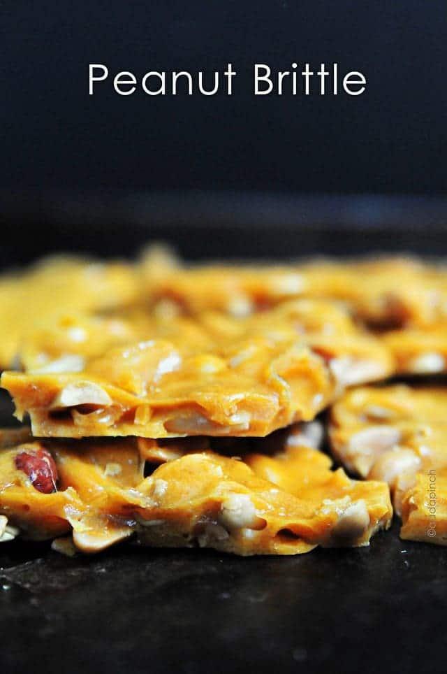 Peanut Brittle Recipe - Cooking | Add a Pinch | Robyn Stone