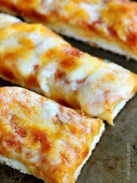 Cheesy Garlic Pizza Sticks Recipe