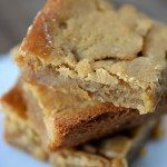 Salted Caramel Blondies Recipe