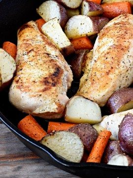 Skillet Ranch Chicken Recipe
