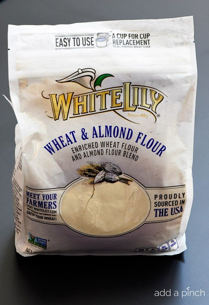 White Lily Wheat and Almond Flour Blend // addapinch.com