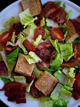 BLT Panzanella Salad Recipe