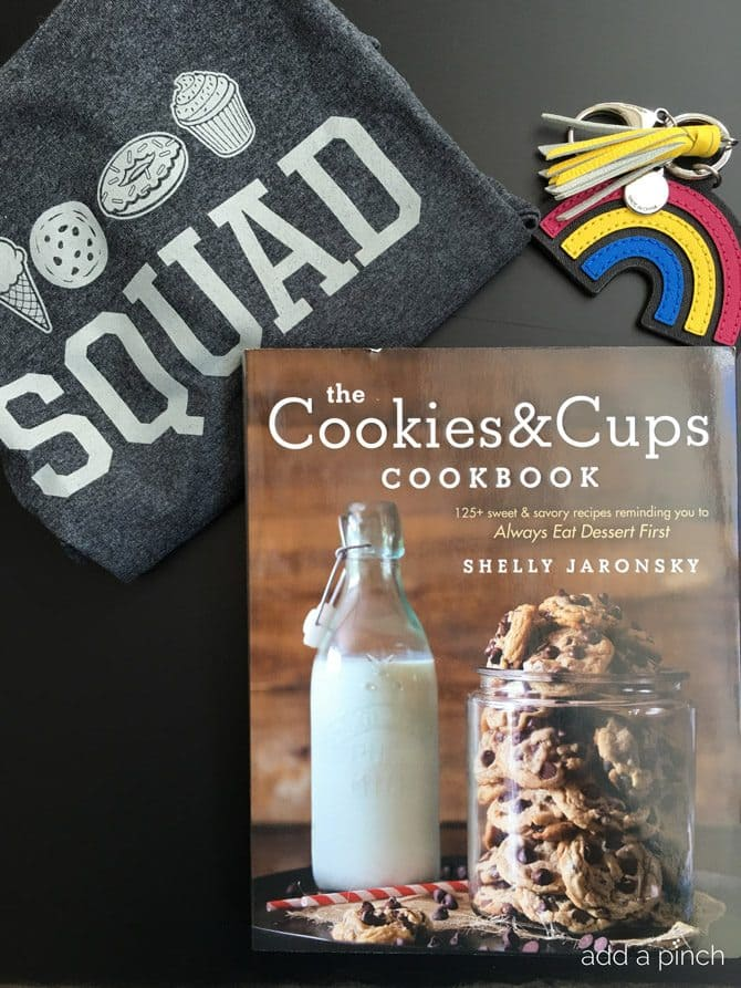 Cookies and Cups Cookbook by Shelly Jaronsky // addapinch.com