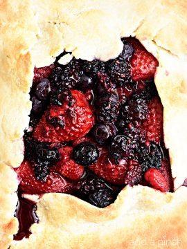Rustic Mixed Berry Tart Recipe