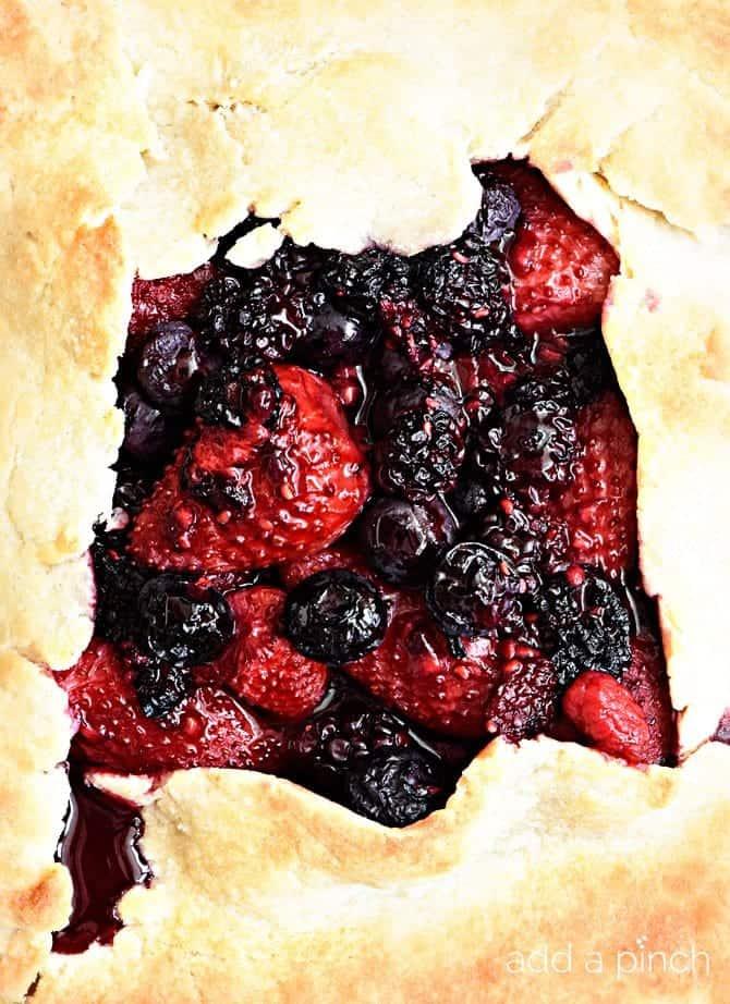 Rustic Mixed Berry Tart RecipeAdd a Pinch