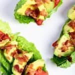 BLT Avocado Lettuce Wraps Recipe