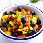 Mango Blueberry Salsa Recipe