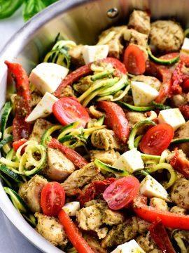 One Pan Pesto Chicken Recipe