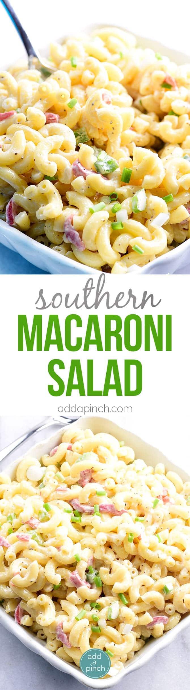 Southern Macaroni Salad Recipe Add A Pinch