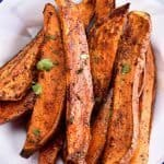 Spicy Roasted Sweet Potato Wedges Recipe