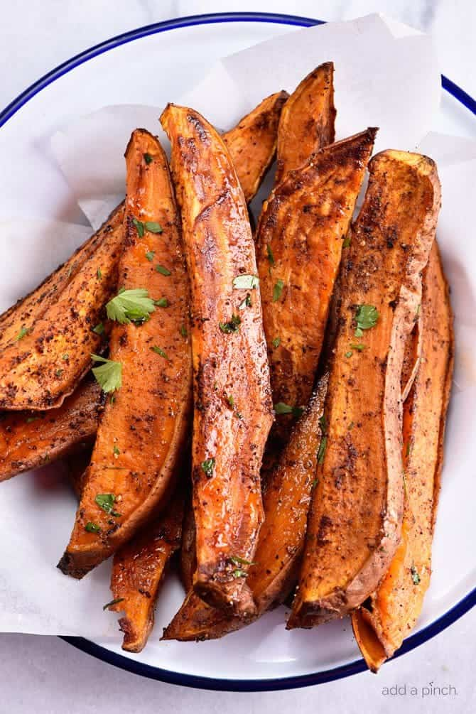 Spicy Sweet Potato Wedges Recipe - Spicy Roasted Sweet Potato Wedges ...