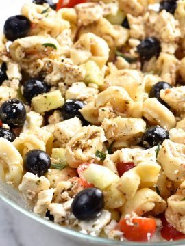 Easy Tortellini Pasta Salad Recipe