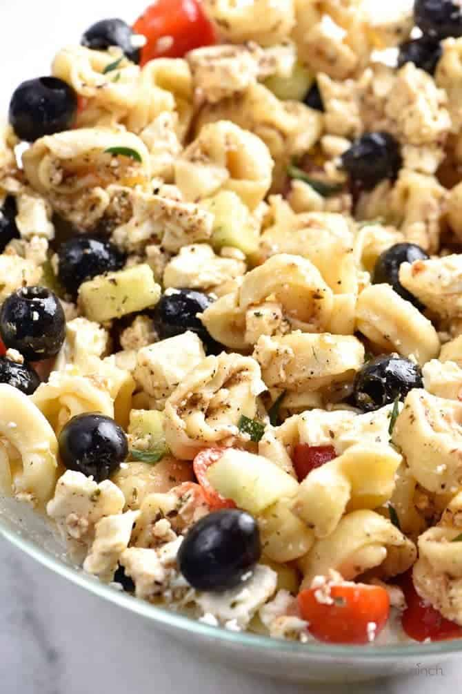 Easy Tortellini Pasta Salad Recipe Add A Pinch