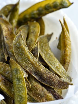Crispy Sugar Snap Peas Recipe
