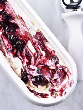 Blueberry Cheesecake Ice Cream Recipe
