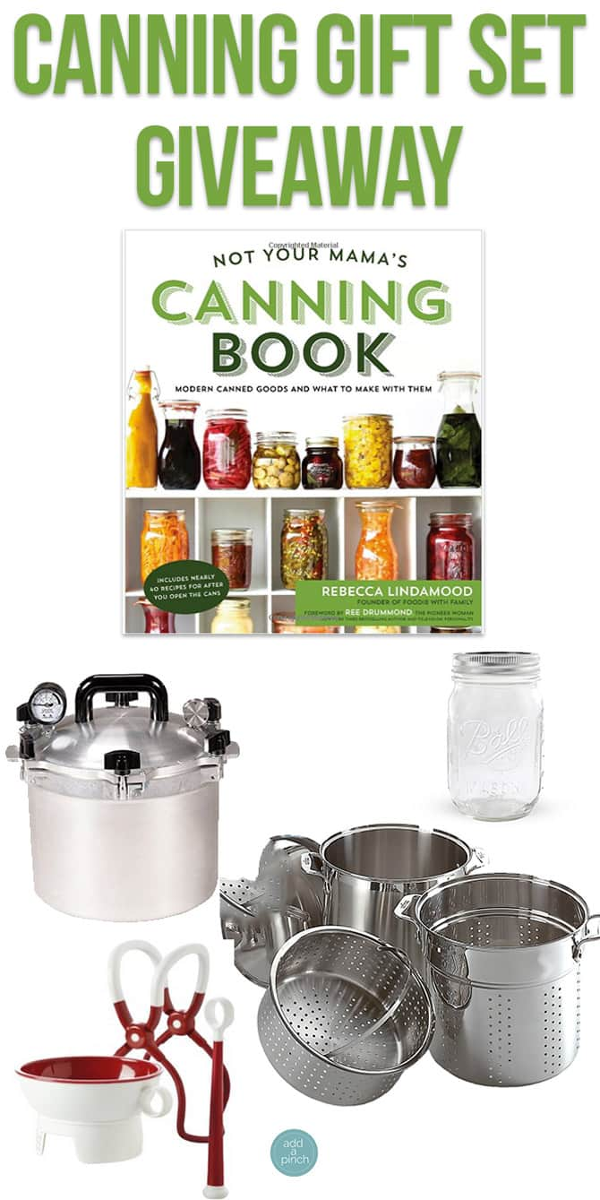 Canning Gift Set Giveaway from addapinch.com