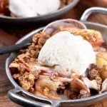 Skillet Apple Crumble Recipe