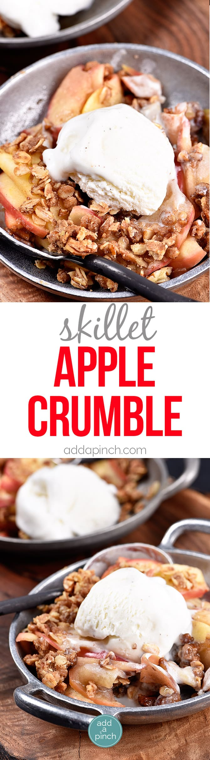 Skillet Apple Crumble Recipe - Skillet Apple Crumble recipe makes a ...